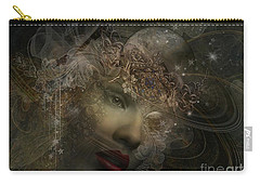Face Of Space Carry-all Pouch