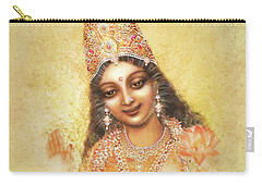 Face Of The Goddess - Lalitha Devi - Without Frame Carry-all Pouch
