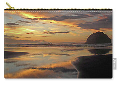 Carry-all Pouch featuring the photograph Face Rock Beauty by Suzy Piatt