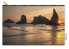 Face Rock Sunset Carry-all Pouch