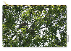 Carry-all Pouch featuring the photograph Face The Eagle by Donald C Morgan