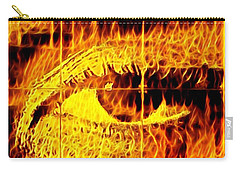 Face The Fire Carry-all Pouch