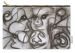 Faces And Places Carry-all Pouch