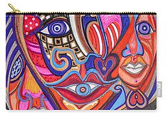 Faces Of Hope Carry-all Pouch