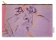 Carry-all Pouch featuring the mixed media Faces Of Trivia by Steve Karol