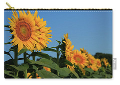 Carry-all Pouch featuring the photograph Facing East by Chris Berry
