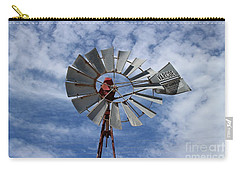 Facing Into The Breeze Carry-all Pouch by Stephen Mitchell