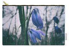 Fade Into The Blue Carry-all Pouch by Karen Stahlros