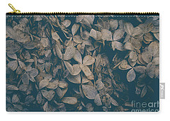 Carry-all Pouch featuring the photograph Faded Flowers by Edward Fielding