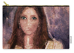 Carry-all Pouch featuring the photograph Faded Memories by Claire Bull