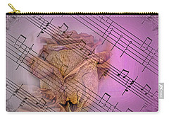 Faded Music Carry-all Pouch