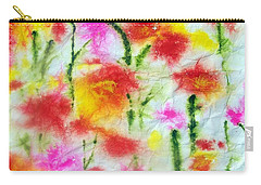 Fading Flowers Carry-all Pouch