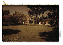 Carry-all Pouch featuring the photograph Fading Glory - The Hermitage by James L Bartlett