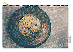 Carry-all Pouch featuring the photograph Fading Time by Edward Fielding