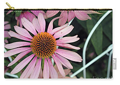 Fading To Pink Cone Plant Carry-all Pouch