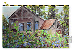 Fainting Goat Vineyard Through The Vines Carry-all Pouch by Jan Dappen