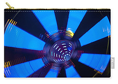 Fairground Abstract Vi Carry-all Pouch by Helen Northcott