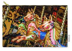 Fairground Carousel Horses Carry-all Pouch
