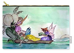 Fairies At Sea Carry-all Pouch