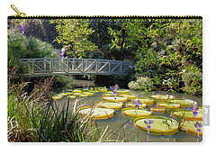 Fairies On The Lily Pods Carry-all Pouch by Rosalie Scanlon