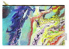 Fairy Art - Colorful Abstract Fantasy Painting Carry-all Pouch