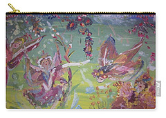 Fairy Ballet Carry-all Pouch by Judith Desrosiers