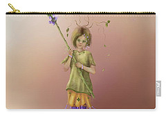 Fairy Bella Lavender Carry-all Pouch