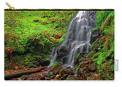 Fairy Falls Oregon Carry-all Pouch by Jonathan Davison