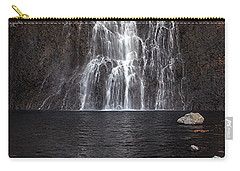 Carry-all Pouch featuring the photograph Fairy Falls - Yellowstone National Park by Craig J Satterlee