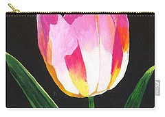 Carry-all Pouch featuring the painting Fairy Lantern by Rodney Campbell