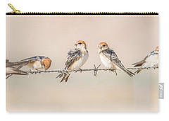 Fairy Martins Carry-all Pouch by Racheal  Christian