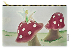 Fairy On Mushroom Trees Carry-all Pouch