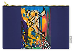 Fairy Queen - Art By Dora Hathazi Mendes Carry-all Pouch by Dora Hathazi Mendes