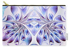 Carry-all Pouch featuring the digital art Fairy Wings by Jutta Maria Pusl