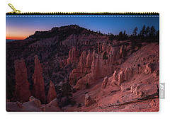 Carry-all Pouch featuring the photograph Fairyland Canyon by Edgars Erglis