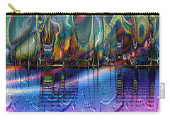 Carry-all Pouch featuring the digital art Fairyland by Kiki Art