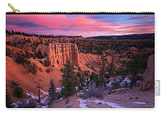 Carry-all Pouch featuring the photograph Fairyland Loop Trail by Edgars Erglis