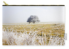 Carry-all Pouch featuring the photograph Fairytale Winter In Fingal by Jorgo Photography - Wall Art Gallery