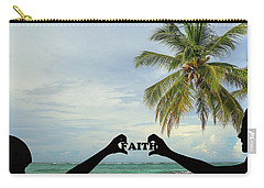 Carry-all Pouch featuring the photograph Faith - Digital Art1 by Ericamaxine Price
