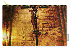 Carry-all Pouch featuring the photograph Faith, Light, And Hope by John Rivera