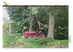 Carry-all Pouch featuring the photograph Faithful American Tractor by Jeanette Oberholtzer