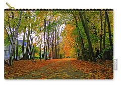 Fall Afternoon On The Rail Trail Carry-all Pouch