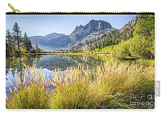 Carry-all Pouch featuring the photograph Fall Along The Creek by Charles Garcia