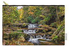 Fall At Bark Camp Creek Carry-all Pouch