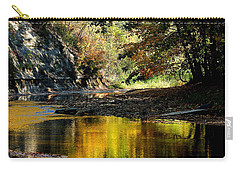 Fall At Big Creek Carry-all Pouch by Bruce Patrick Smith
