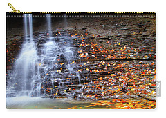 Fall At Blue Hen Falls Carry-all Pouch