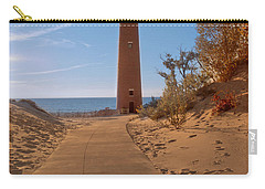 Fall At Little Point Sable Light Carry-all Pouch