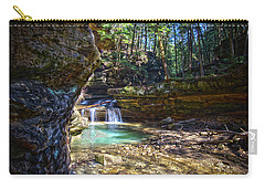 Fall Below Old Mans Cave Carry-all Pouch