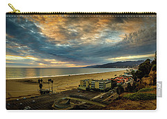 Fall Clouds Over The Bay Carry-all Pouch