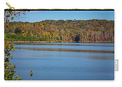 Fall Color At Lake Zwerner Carry-all Pouch